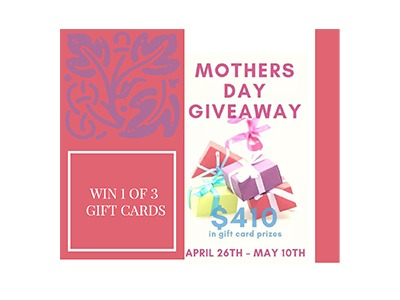 Mother's Day Blog Giveaway