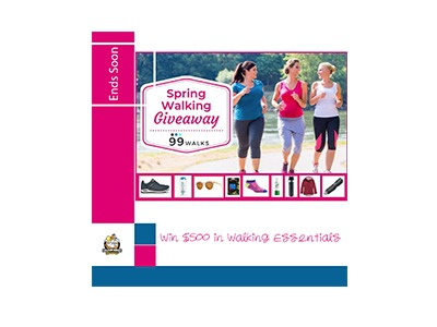 Win $500 in Walking Essentials