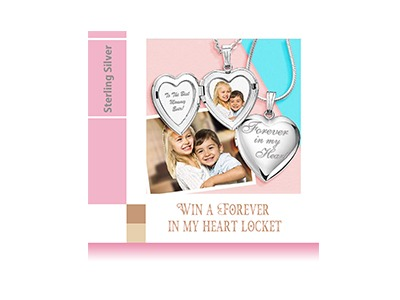 Win a Forever in My Heart Locket