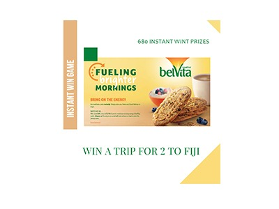 Belvita Instant Win Sweepstakes