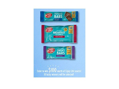 Enjoy Life Foods Sweepstakes
