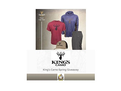 King's Camo Spring Giveaway