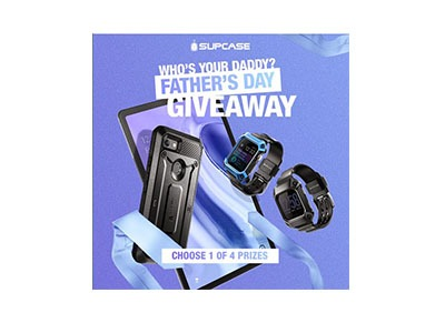 SUPCASE Fathers Day Giveaway