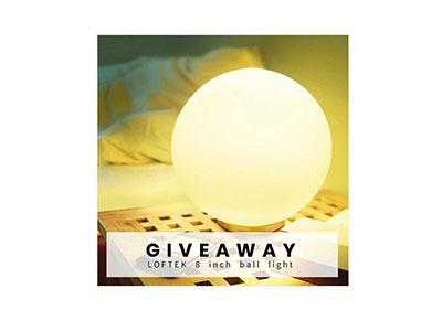 Win a LOFTEK Ball Light