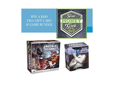 Visa Gift Card & Game Bundle Sweepstakes