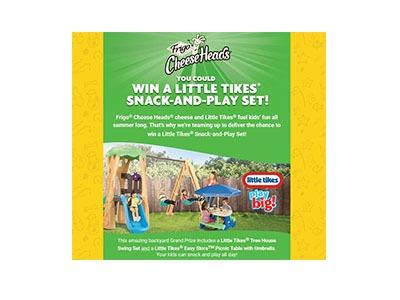 Frigo Cheese Head Summer Fun Sweepstakes