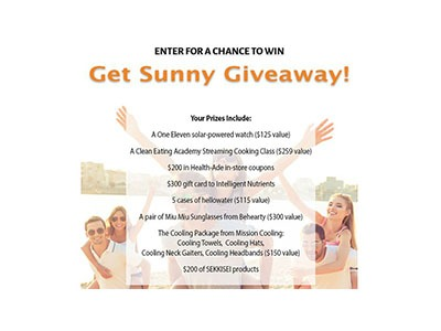 Get Sunny Giveaway