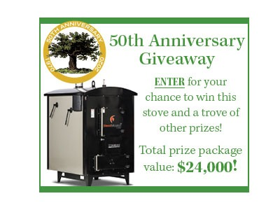 MOTHER EARTH NEWS 50th Anniversary Giveaway