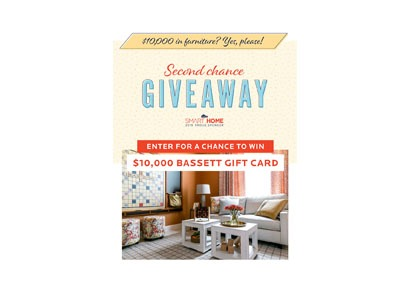 Bassett Furniture Sweepstakes