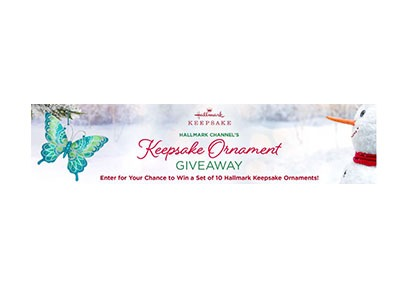 Hallmark Keepsake Ornament Giveaway
