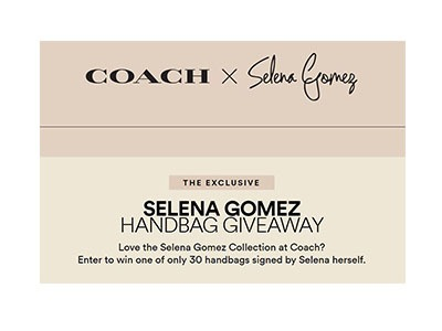 Win an Exclusive Selena X Coach Bag