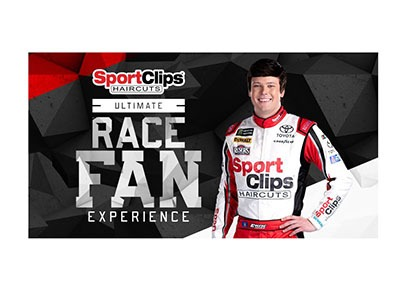 SPORT CLIPS ULTIMATE RACE FAN EXPERIENCE
