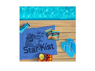 Starkist Beach Towel Giveaway