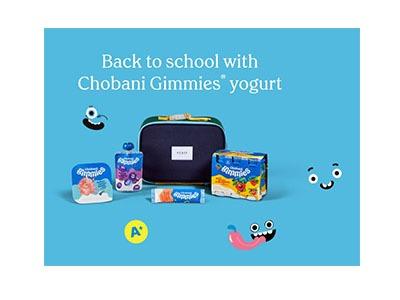 Chobani Back to School Sweepstakes