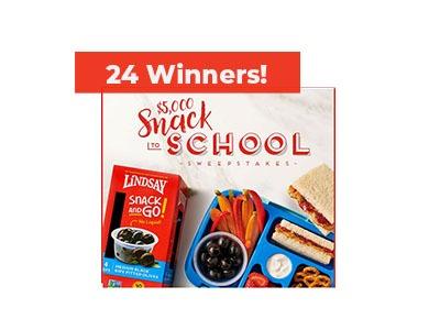 Lindsay Snack to School Sweepstakes