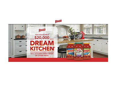 RAGU Dream Kitchen Sweepstakes