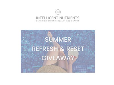 Summer Refresh and Reset Giveaway