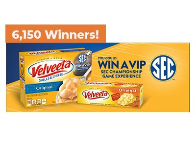 Score with Velveeta Sweepstakes