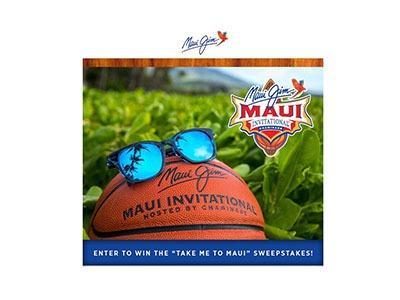 Take Me To Maui Sweepstakes