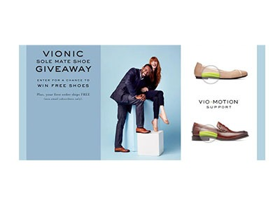 Vionic Sole Mate Giveaway