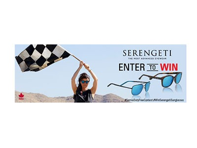 Win His and Her's Serengeti Sunglasses