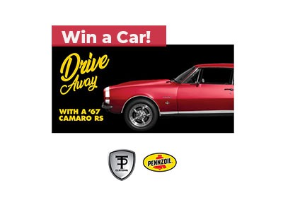 Drive Away with a 1969 Camaro Sweepstakes