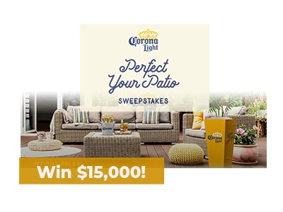 Ends SOON! Perfect Your Patio Sweepstakes - Ends Sept 6th