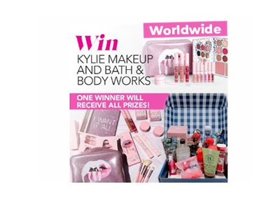 Win Kylie Makeup – Bath & Body Works Bundle Sweepstakes