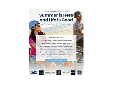Summer is Here and Life is Good Sweepstakes