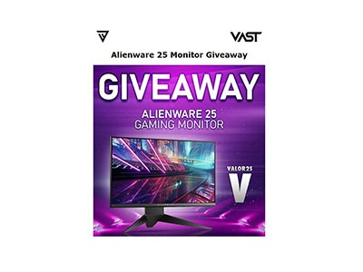 Win an Alienware Gaming Monitor