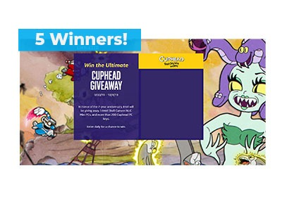 Cuphead Mini PC Sweepstakes