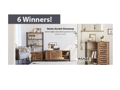 Songmics Home Accent Giveaway