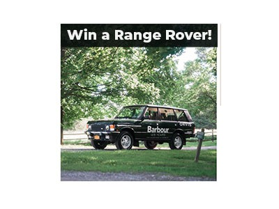 Range Rover 125 Year Anniversary Sweepstakes