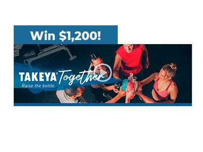 Takeya Together Sweepstakes
