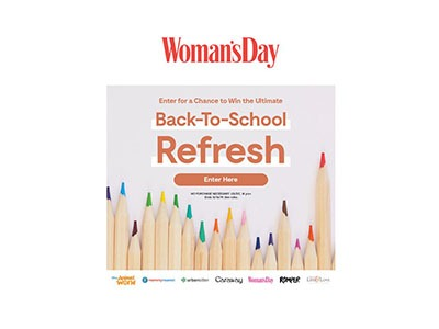 Woman's Day Back to School Refresh Giveaway