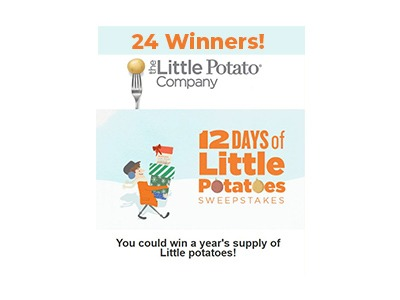12 Days of Little Potatoes Sweepstakes