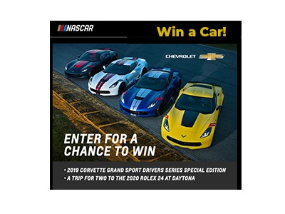Race to Win Corvette Sweepstakes