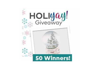 Oriental Trading Holi-Yay Days Daily Giveaways