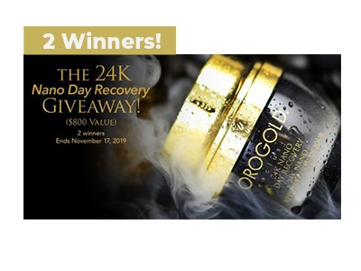 OROGOLD Nano Day Recovery Giveaway