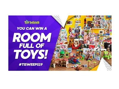 Toy Insider Room Full of Toys Giveaway