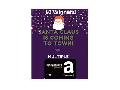 $50 Amazon Gift Card Sweepstakes
