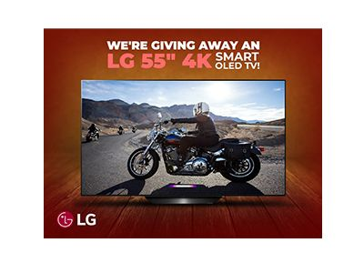 Win a LG 4K Smart TV