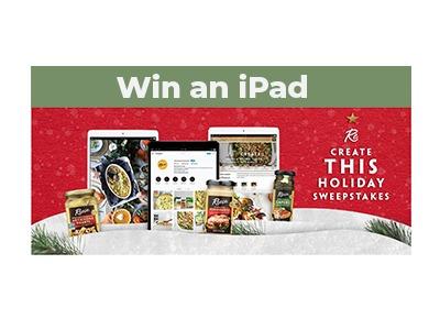 Reese Foods iPad Sweepstakes