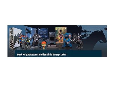DC Comics Dark Knight Returns Sweepstakes