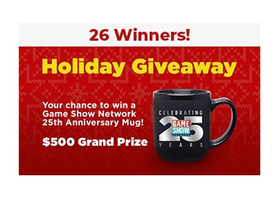 GSN Holiday Sweepstakes