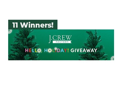 J. Crew Factory Hello Holiday Giveaway