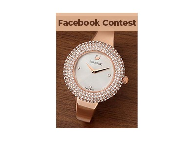 SWAROVSKI Crystal Rose Watch Sweepstakes