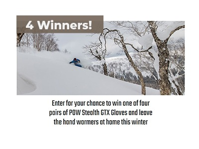 POW Stealth GTX Gloves Giveaway