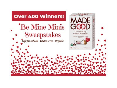 Be Mine Minis Sweepstakes