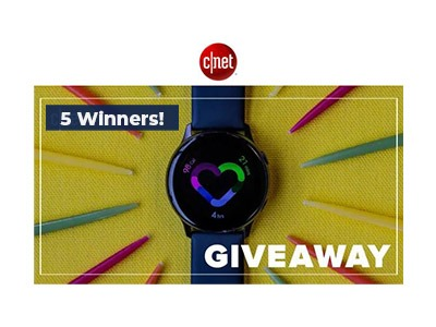 CNET Wellness Giveaway